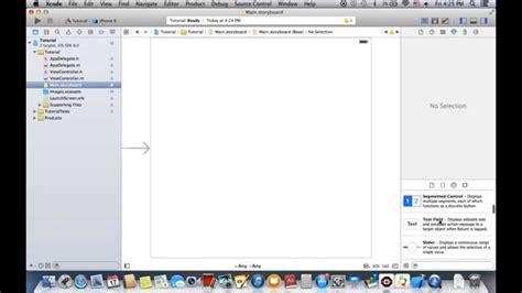 xcode bots tutorial xcode 6 tutorial lesson 1 xcode basics youtube