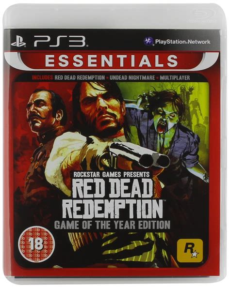 Bd Ps3 Dead Redemption Of The Year Edition dead redemption of the year essentials edition ps3 ebay