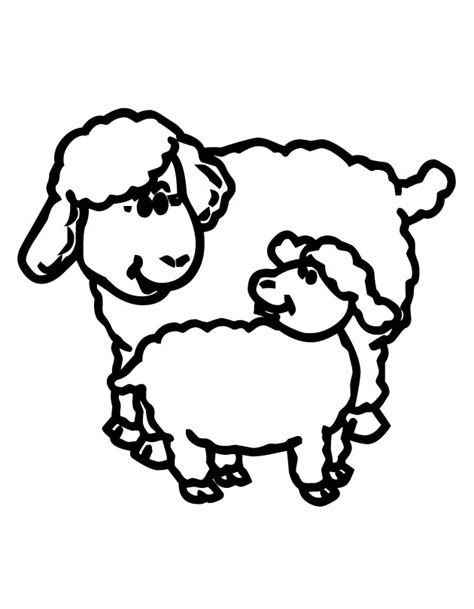 printable lamb images lamb color page az coloring pages