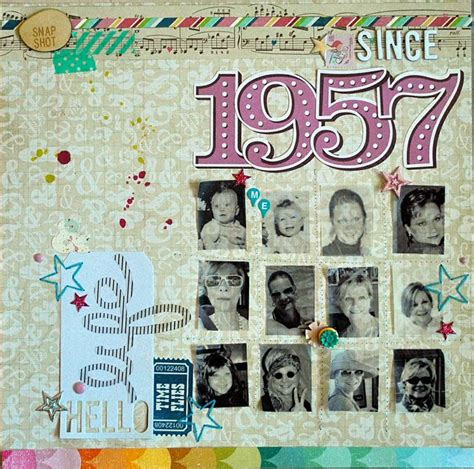 layout of scrapbook since 1957 scrapbook com favorite scrapbooking layouts