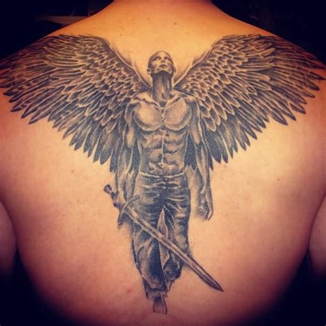 tattoo angel with sword sword tattoo images designs