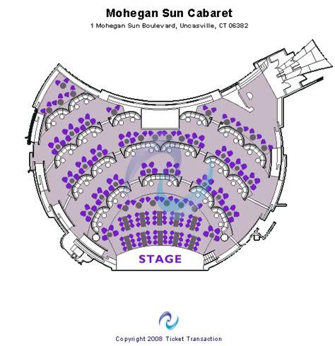 mohegan sun floor plan cheap mohegan sun cabaret tickets mohegan sun cabaret seating plan chart map schedule