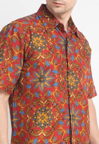 Harga Batik Danar Hadi Di Jakarta jual danar hadi kemeja pendek batik print ceplok asih wigati original zalora indonesia