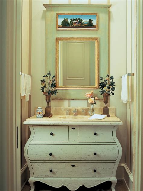 dresser style bathroom vanity photos hgtv