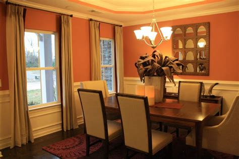 orange dining rooms orange color in your dining room why not