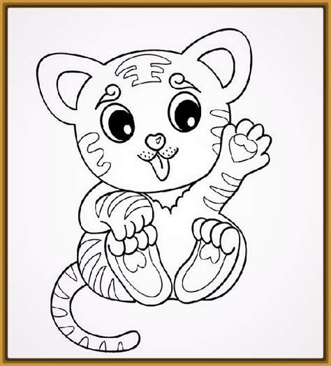 imagenes bonitas de bebes para dibujar imagenes de tigres bebes para dibujar y colorear fotos