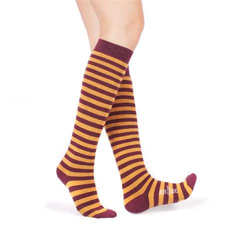 Striped The Knee Socks striped knee high socks altersocks ალტერსოქსი