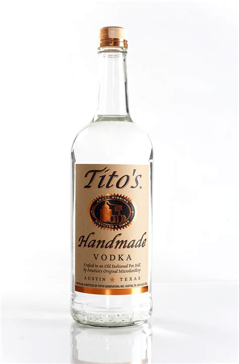 Titos Handmade Vodka Price - tito s handmade vodka 750ml honest booze reviews