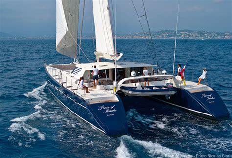 catamaran to sail around the world rose of jericho catamaran yacht photo nicolas claris png
