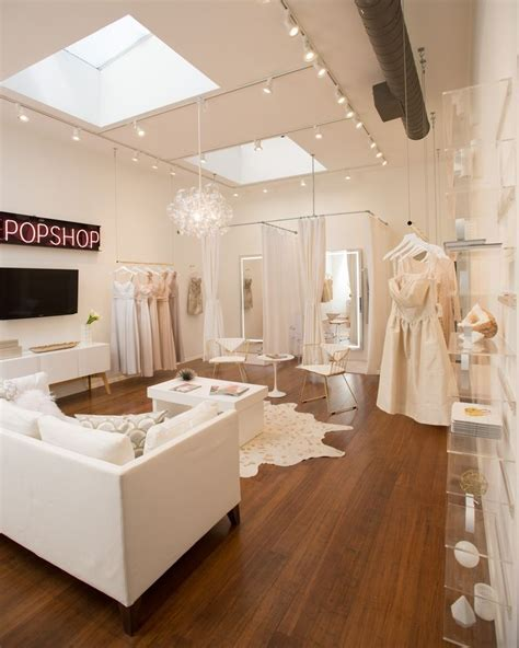 A Peek Inside A Luxe, Feminine Bridal Salon Designed On A