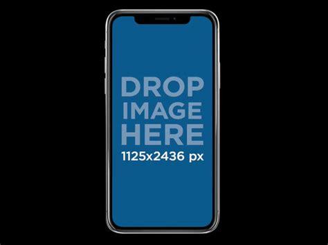 iphone  mockup  transparent background  placeit
