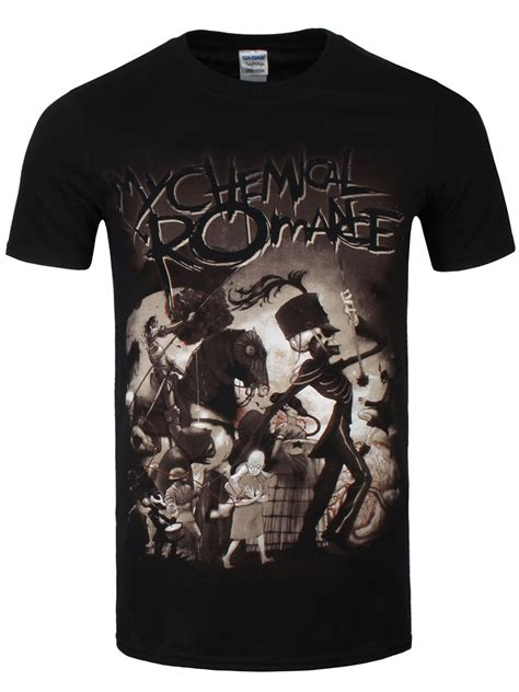 My Chemical Shirt my chemical on parade s black t shirt buy