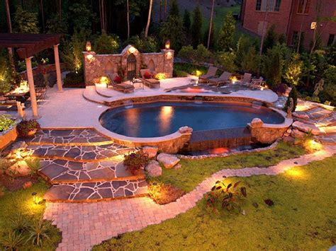Great Garden Lighting Ideas For A Beautiful Log Cabin Exterior Patio Lights Uk
