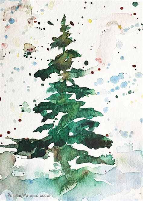 watercolor tutorials on pinterest 25 best ideas about watercolor christmas cards on
