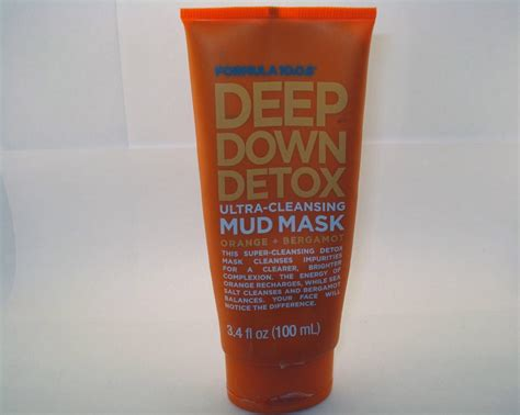 Detox Ultra Cleansing Mud Mask Makeupalley by Formula 10 0 6 Detox Ultra Cleansing Mud Mask