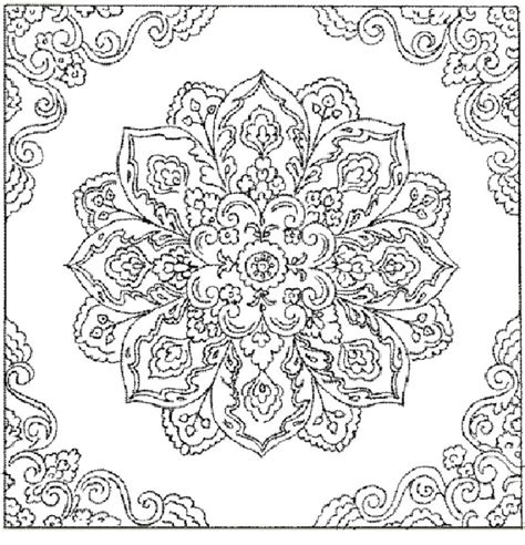 abstract pattern to color free printable abstract coloring pages for adults