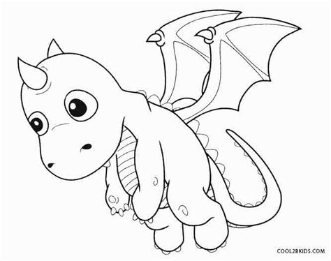 coloring pages of cute dragons printable dragon coloring pages for kids cool2bkids