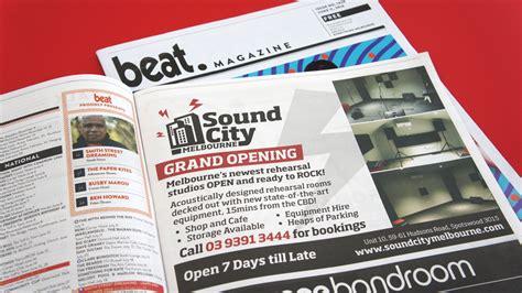 magazine layout jobs melbourne logo advertising signage sound city melbourneideapro