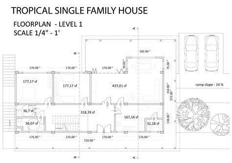tropical house designs and floor plans tropical modern house designs floor plans