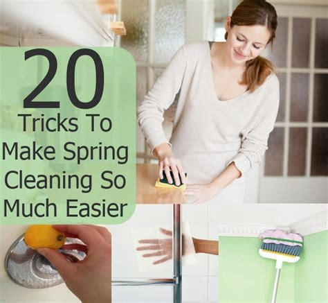 20 Simple Tricks To Make - 20 simple tricks to make cleaning so much easier