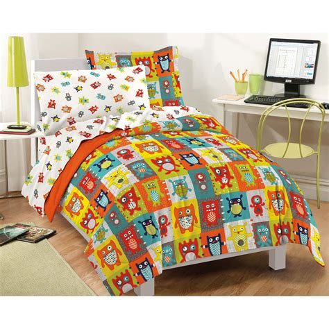 Colorful Comforter Set by Silly Monsters Bedding Set 7pc Colorful Animals Comforter Sheets