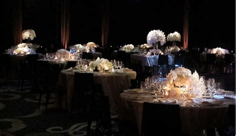 event design new york city elena damy a chic black white wedding at the mandarin