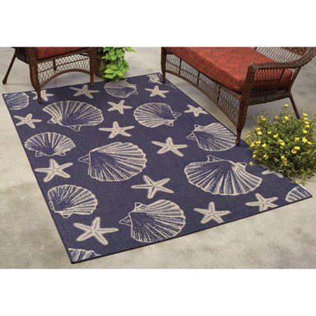 mainstays horseshoe bay indoor outdoor rug walmart
