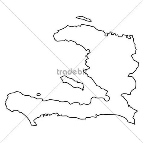 haiti map coloring page outline map of haiti download places