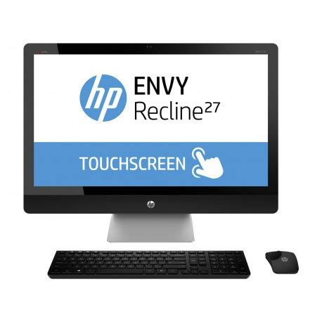 hp envy recline touchsmart 27 ordinateur de bureau tout en un hp envy recline touchsmart