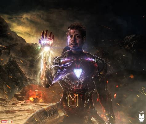 avengers endgame tony stark iron