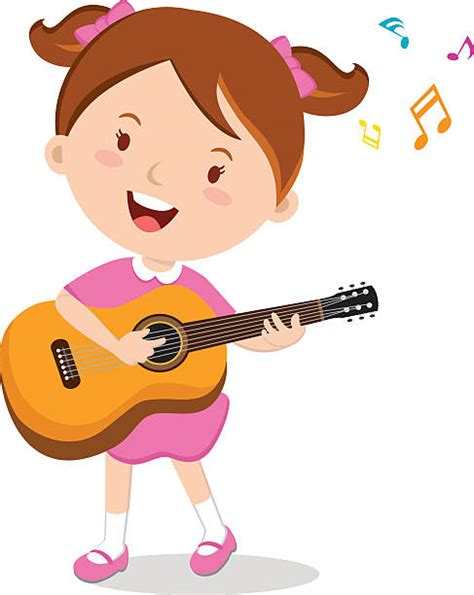 girl playing guitar clip art girl playing guitar clipart clipartxtras