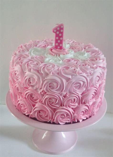 large pink rosette  birthday fake  fakecupcakecreations arabellas birthday pinterest