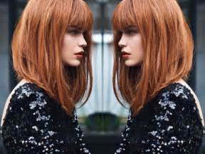 what does a bob hair cut loom like best 25 long bob with fringe ideas on pinterest bob