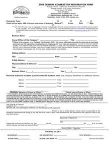 general contractor contract template 10 best images of general contract agreement template