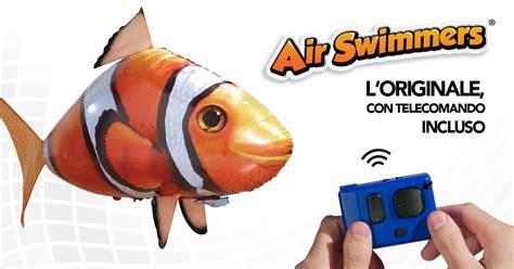 pesci volanti radiocomandati vendita on line di pesci volanti air swimmers originali