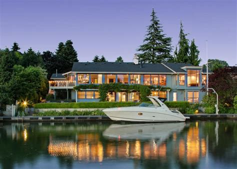 tour a northwest contemporary waterfront home in bellevue