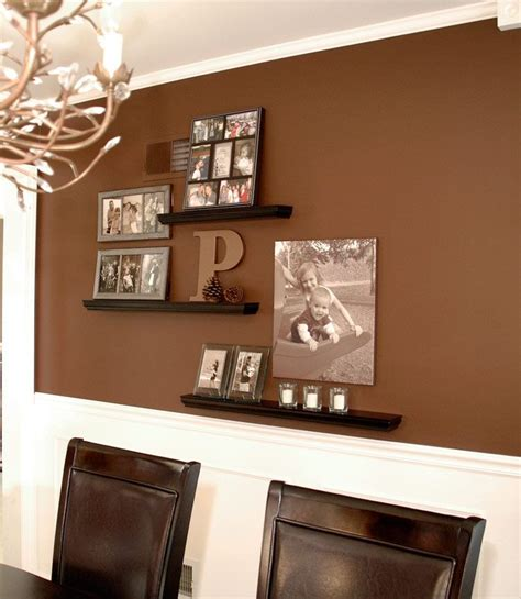 dining room gallery wall spray paint canvas wall photos