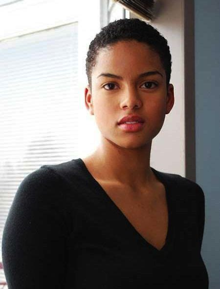 pictures of low cut hairs low cut hairstyles for black ladies with round faces