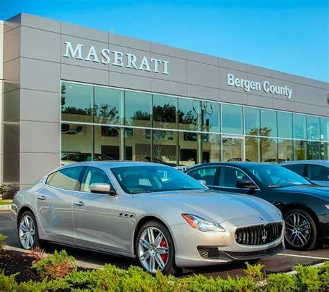 Maserati Dealer Nj by Maserati Of Bergen County Maserati Dealer In