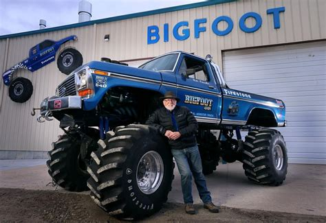 wheels bigfoot truck bigfoot migrates leaving hazelwood without landmark