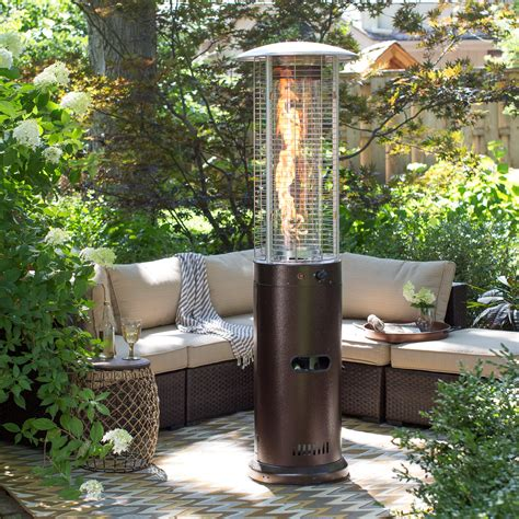patio heater ember fuego patio heater hammeredtone bronze patio