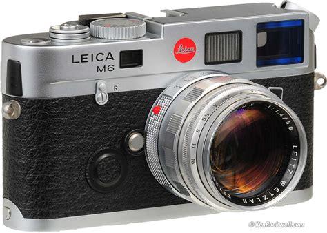 leica m6 leica m6 and m6 ttl