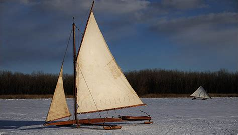 ice boat graphics on hudson ice boating