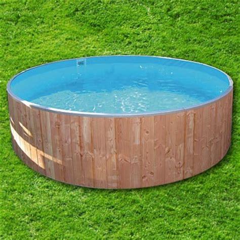 schwimmbecken zum aufstellen rundbecken wood 6 0 x 1 2 m ih blau 0 8 mm ebay