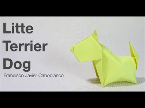 dogs in origami 30 breeds from terriers to hounds books how to make a paper terrier origami terrier