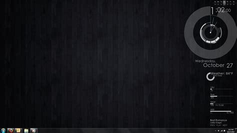 Darkness Beautiful Dark Themes minimal rainmeter desktop by saumaun on deviantart