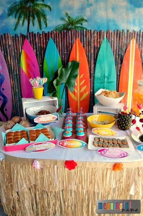 birthday themes hawaii luau birthday party ideas luau birthday party ideas and