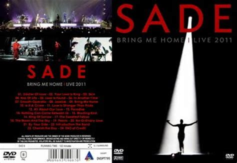 breviant collection sade bring me home live 2011