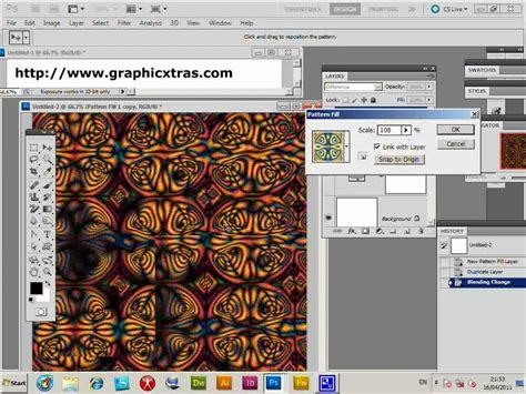 photoshop cs5 layers tutorial pdf super color patterns combining pattern layers in