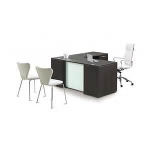 Glass Desk L Shaped L Shaped Desk With Glass Modesty